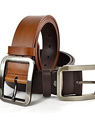 Men's Buckle Leather Belt