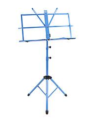 NG - (MS-BU) Azul Music Stand dobrável portátil com saco