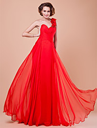 Sheath/Column Sweetheart Floor-length Chiffon Mother of the Bride Dress