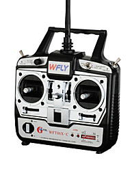 WFLY WFT06X-C 2.4GHz 6CH Transmitter with 2pcs 2.4G 6CH receiver