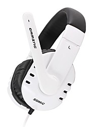 Somic Bass Stereo USB Gaming Headphone with High-Sensitivity Microphone