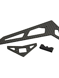 Mystery Carbon fiber tail hanging / flat wing group for 450V3 RC Helicopter