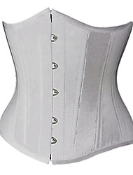 Gorgeous Satin Strapless Front Busk Closure Corsets Shapewear(More Colors) Sexy Lingerie Shaper