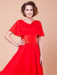 Gorgeous Short Sleeve Chiffon Special Occasion Jacket/Wedding Wrap(More Colors)