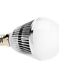 Ampoules Globe Gradable Blanc Naturel B E14 3 W 3 LED Haute Puissance 300 LM 6000K K AC 100-240 V