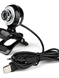 The Littles Desktop 5.0 Megapixels USB 2.0 Clip-on PC Camera Webcam with Microphone