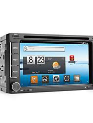 andróide 6,2 polegadas 2DIN carro dvd player com gps, DVB-T, WiFi, 3G