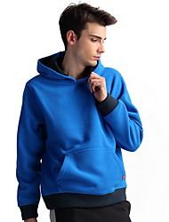 ocasional do hoodie engrossar masculina