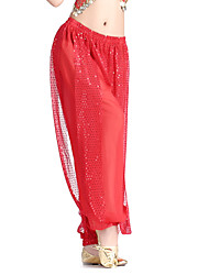 Dancewear Chiffon Belly Dance Bottom For Ladies More Colors