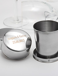 Personalized Stainless Steel Wine Cup