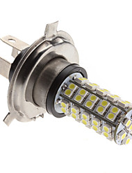 H4 3W 68-SMD 240-270LM Natural White Light LED Lampe für Auto Nebelscheinwerfer (12V)