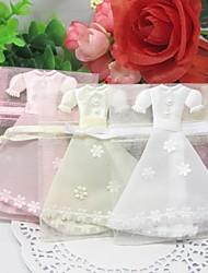 Belle robe de faveurs de conception sacs - jeu de 12 (plus de couleurs)