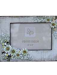 """6"""" Country Style Picture Frame in Polyresin"""