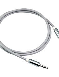 Vehicle-mounted 3.5 mm Interface AUX Cable for iPhone, iPad (1 m)