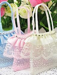 Party Favors e articoli da regalo Bomboniere borse Battesimo/Compleanno Classico Non personalizzato Tessuto non tessuto Avorio/Rosa/Blu #