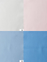 100% Cotton Woven Yarn-Dyed Plain Poplin By The Yard (Many Colors)