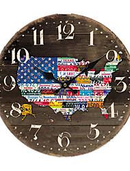 Américaine Horloge murale Pays