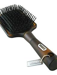 Coussin d'air anti-calvitie cheveux Paddle Brush massage (Noir)