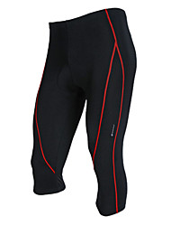 Nuckily-Men's Lycra Power Cycling 3/4 Pants