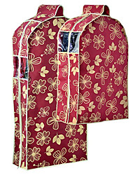 Grogeous Flower Design Breathable Wedding Garment Bag