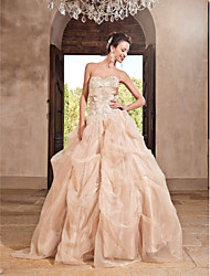 TS Couture Prom Formal Evening Quinceanera Sweet 16 Dress - Vintage Inspired A-line Ball Gown Princess Strapless Sweetheart Floor-length