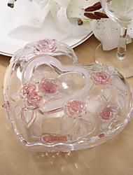centros de mesa de almacenamiento tarro de cristal deocrations mesa en forma de corazón personalizadas