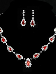 Women's Alloy/Rhinestone Jewelry Set