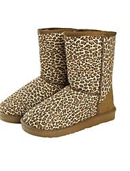 Women 'Leopard Warm Snow Boots Schuhe