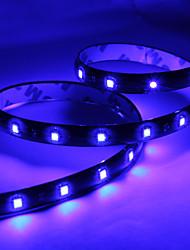Tira de Luces LED para Coches de Luz Azul de 30x1210 60CM de 12V CC
