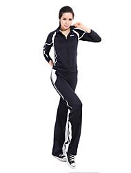 Women' 92% Chinlon Long Sleeves Sweat Absorbency  Suits (Sweater+Pants)