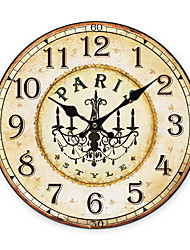 Paris Land Wall Clock
