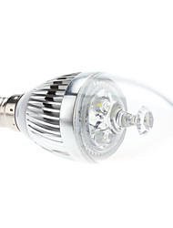 E14 3W 270-290lm 5800-6300K Natural White Light LED Candle Bulb (85-265V)