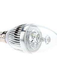 E14 3W 270-290LM 5800-6300K Белый свет природных светодиодные свечи лампы (85-265В)