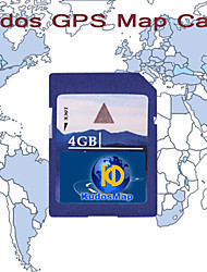 FÉLICITATIONS Europe de l'Ouest Carte (SD Card-4G)