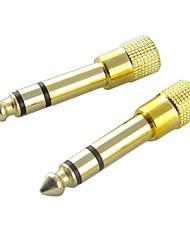 Audio 6.5mm mâle à 3.5mm Adaptateur femelle