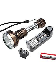 ultrafire 2807 5 de modo cree T6 XM-L levou lanterna set (1000lm, 1x18650, cobre)