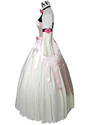 Вдохновлен Код Gease Euphemia Li Britannia Аниме Косплей костюмы Косплей Костюмы Пэчворк Белый Кофты