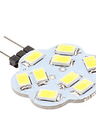 4W G4 Luces LED de Doble Pin 9 SMD 5630 430 lm Blanco Natural DC 12 V