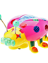Bump and Go Ladybird Car for Kid with Light Effect and Music (3xAA)