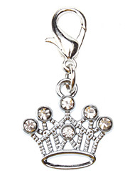 Dog tags Beautiful Crown Style Collar Charm for Dogs Cats