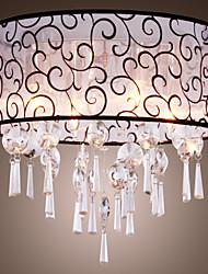 Lustre de Tecto Elegante com 4 Luzes
