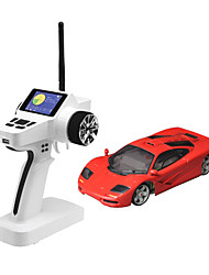 Mini-Z Firelap 1/28 4WD RC McClaren F1 with 2.4G color screen Transmitter