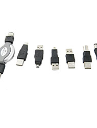 USB Male to 1394 6-Pin Female Adapter