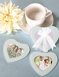 capture mijn hart foto coasters (set van 2)