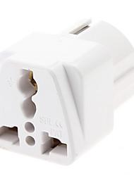 EU Plug 2 Pin Plug Adapter épais de voyage Multiple universel (110-240V)