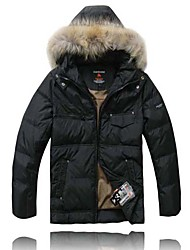AD-8046 VALIANLY Outdoor Men's Skiing Down Jacket (Without Cap Hair)
