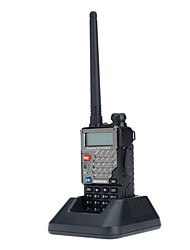 Nouvelle version (VHF136-174MHz UHF 400-480Mhz) VHF / UHF Dual-Band Two Way Radio