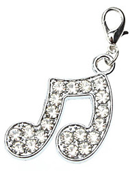 Lovely Musical Note Style Collar Charm for Dogs Cats