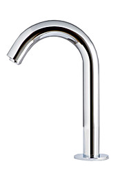 Sensor Hands Free Contemporary Bathroom Sink Faucet-Chrome Finish(Cold)