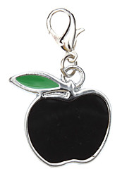 Black Apple Collare Charm Style per Cani Gatti